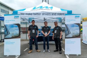 Ben, Mike & Phil at Winsford Blue Light Event 2019